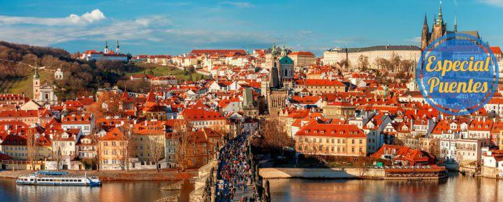 Praga en el Puente de Mayo