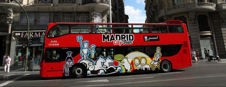 Madrid City Tour Hop On-Hop Off (1 día)