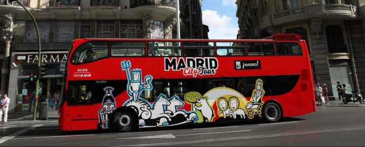 Madrid City Tour Hop On-Hop Off (1 día)
