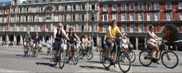 Madrid en Bicicleta en inglés.