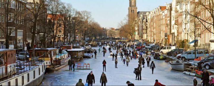 Mercadillo de Navidad en los Países Bajos