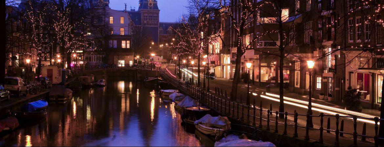 Mercadillo de Navidad en Amsterdam