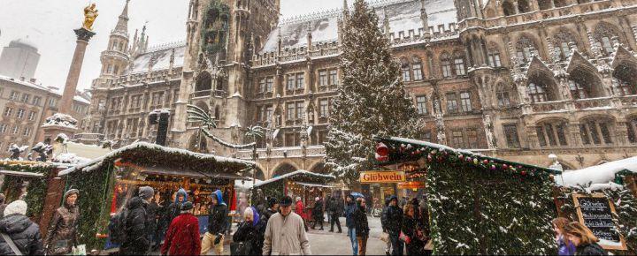 Mercadillo de Navidad en Baviera