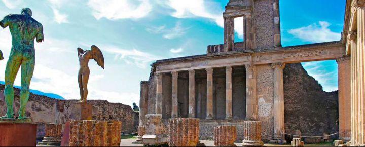 Excursion 1 días Pompeya + Vesubio