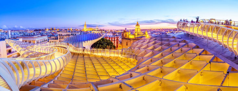 Cáceres y Sevilla desde Madrid, 2 días